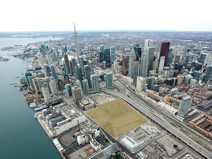 LCBO Head Office Lands Aerial