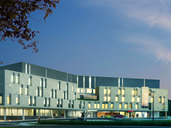 Cambridge Memorial Hospital Rendering