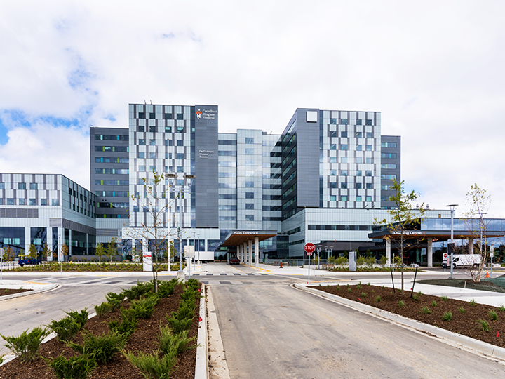 Exterior Photograph of Cortellucci Vaughan Hospital