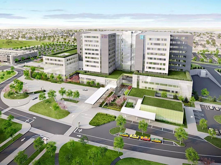 Contract Awarded for Mackenzie Vaughan Hospital Project