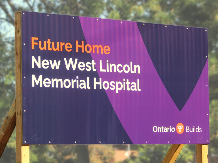Sign of West Lincoln Memorial Hospital